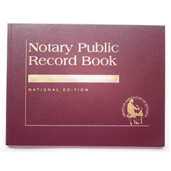 This is our top-of-the-line Florida notary record book. This attractive book features a contemporary leatherette cover with gold-embossed text finish. Perfectly bound and chronologically numbered so that you can easily detect if the record is ever tampered with. Accommodates over 728 entries (104 pages). Includes complete step-by-step instructions. Meets or exceeds Florida state requirements for proper notarial record keeping.