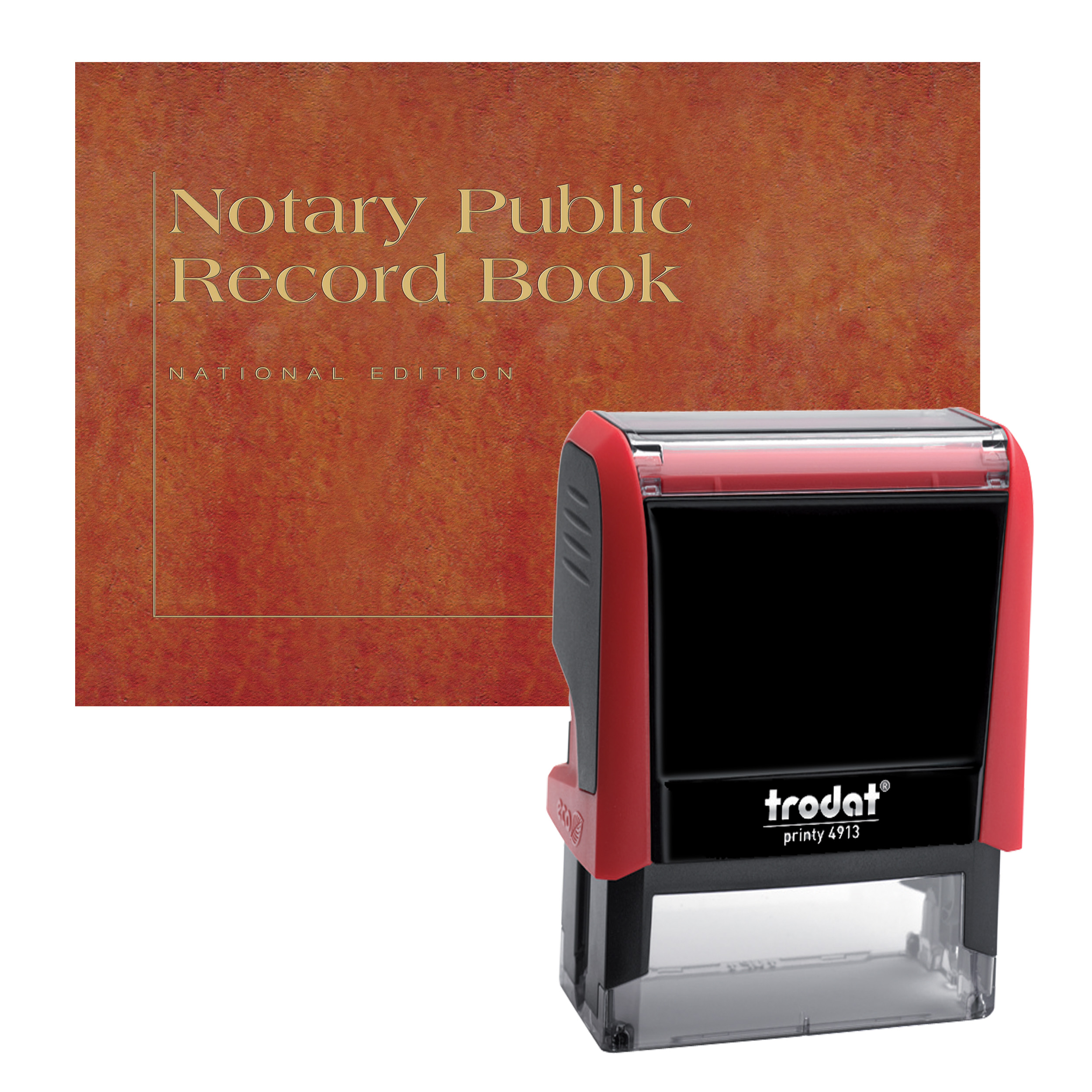 Florida Notary Supplies Value Package - Includes Trodat P4 Notary Stamp